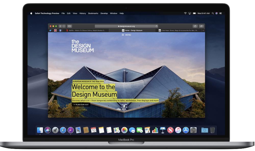 Apple updates Safari Technology Preview