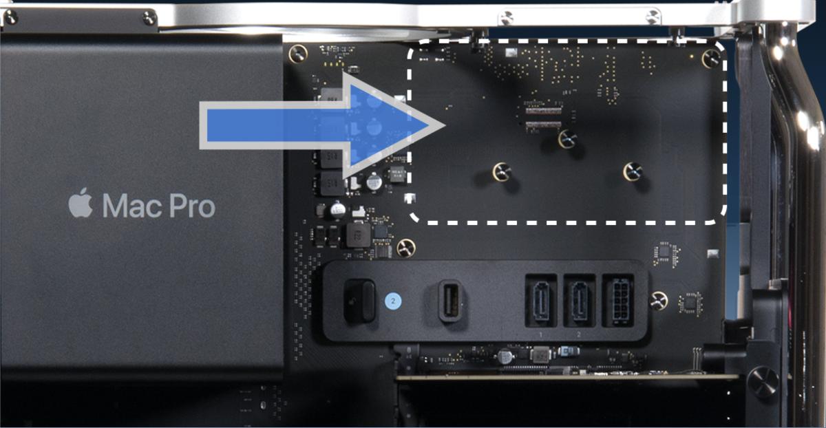 Sonnet announces internal drive mount for Mac Pro
