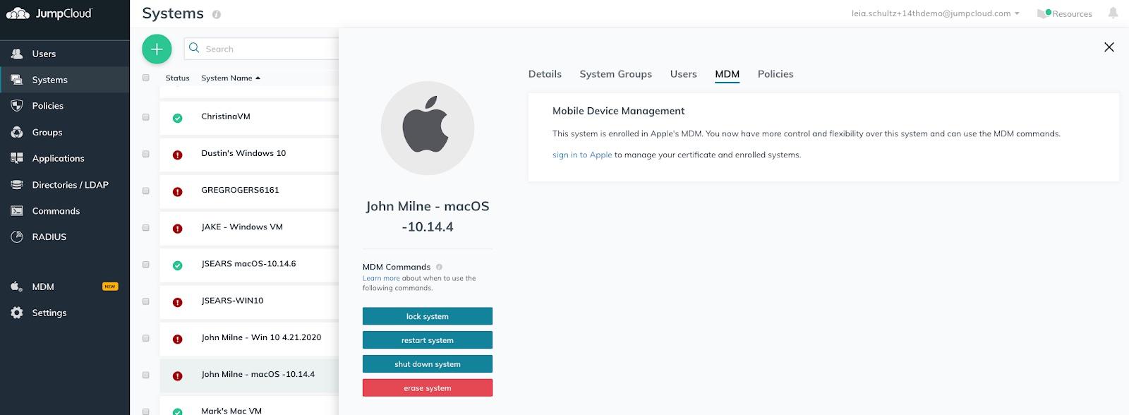 JumpCloud extends cloud directory platform with Apple MDM support