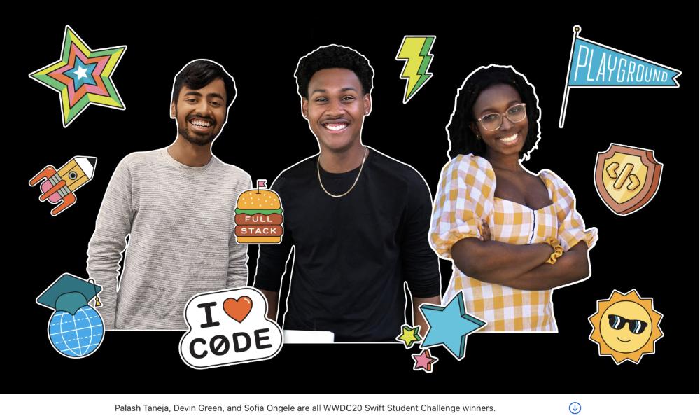 Apple announces winners of WWDC20 Swift Student Challenge