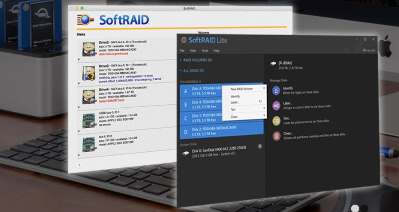 OWC announces SoftRAID Lite for Windows