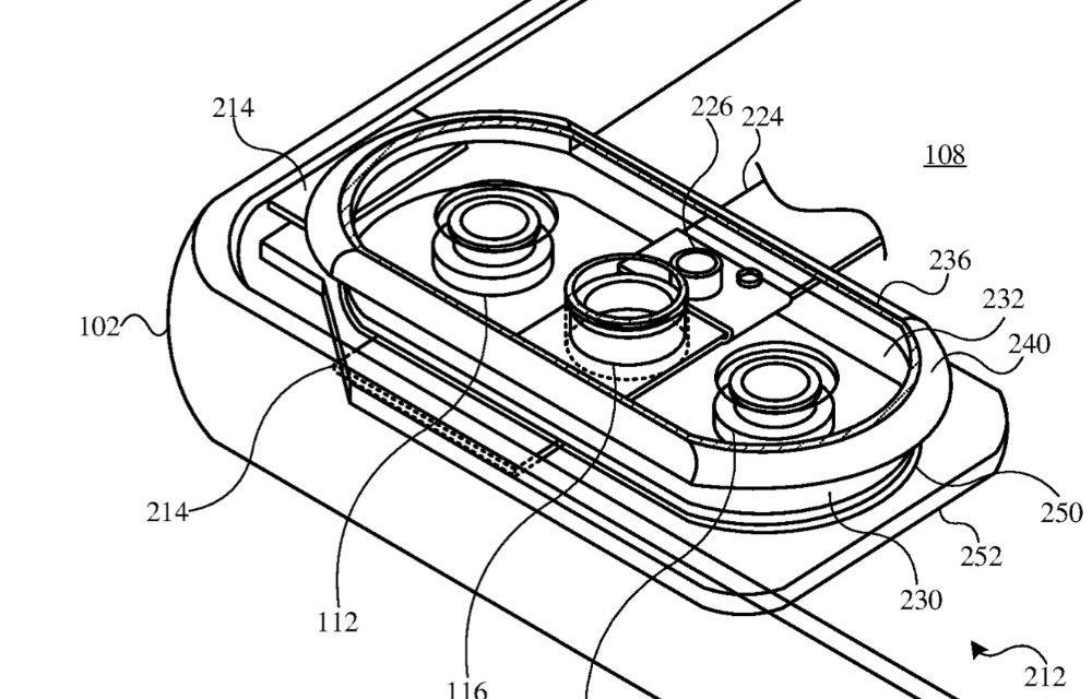 Apple patent filing hints at camera, audio enhancements in future iPhones, iPads