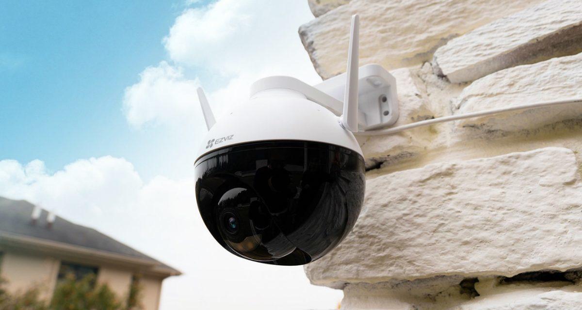 EZVIZ unveils its first outdoor pan/tilt Wi-Fi camera