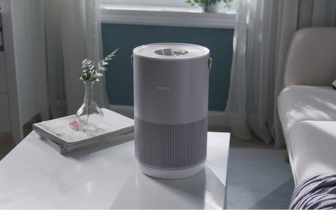 The Smartmi P1 is a great HomeKit compatible air purifier/pollen filter