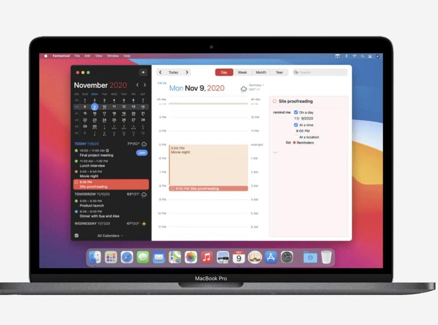 Kool Tools: Fantastical for macOS