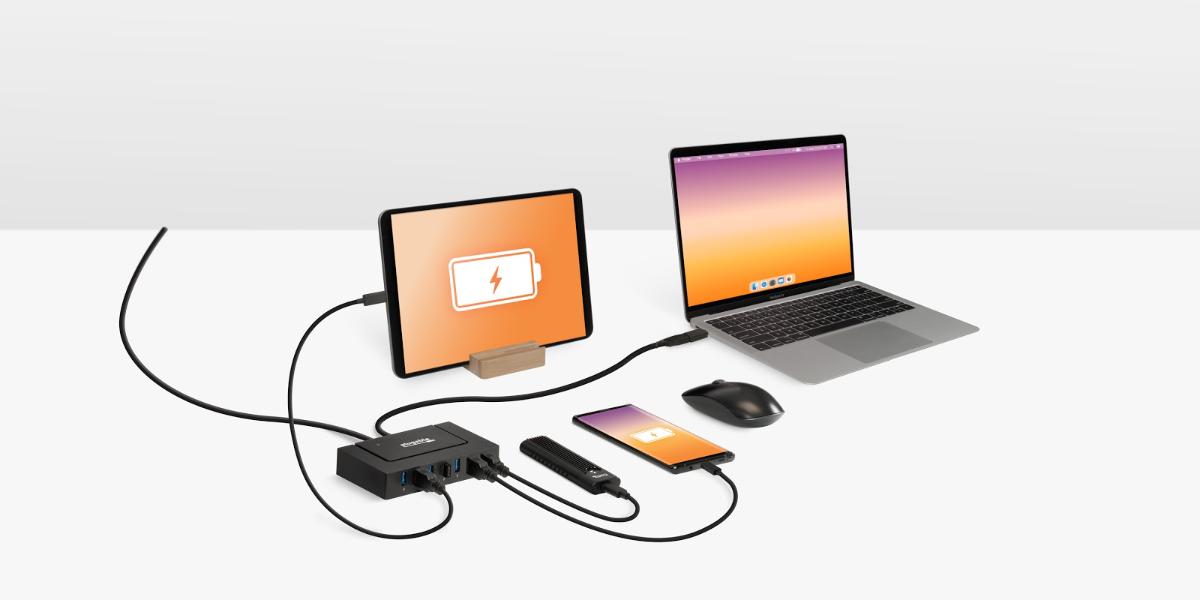 Plugable announces USB-C and USB 3.0 7-Port Data and Charging Hub