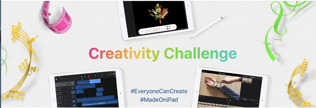 Apple Education launches new 'Made on iPad' Creativity Challenge