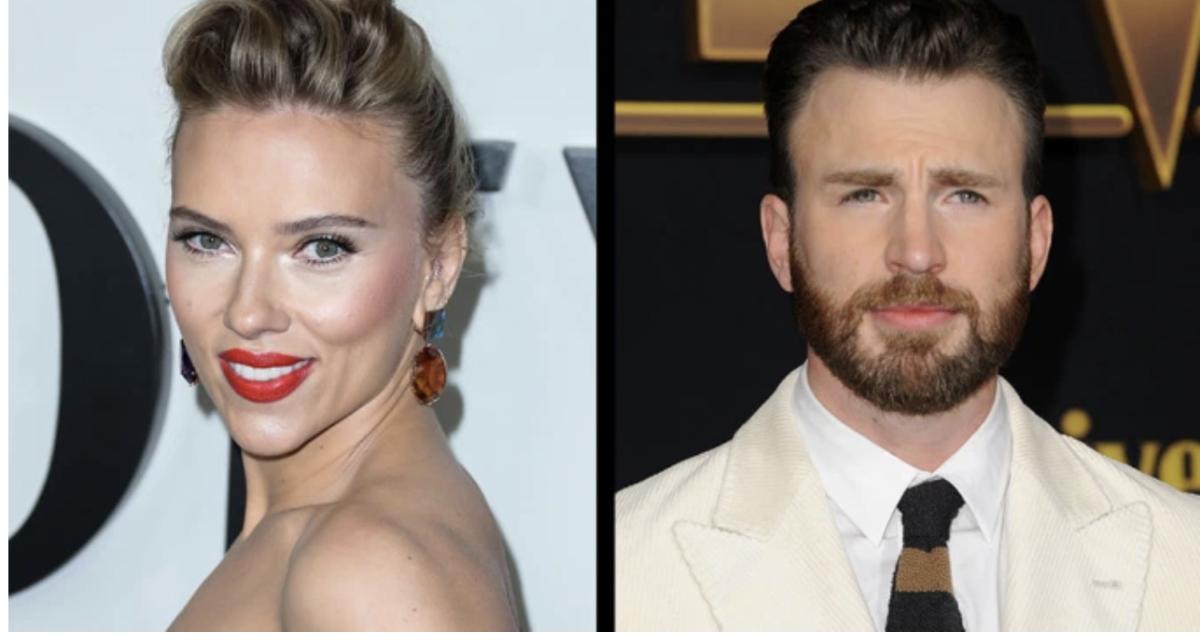 Scarlett Johansson, Chris Evans to reteam on 'Ghosted' for Apple TV+