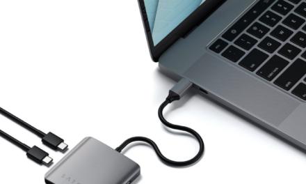 Satechi 4-Port USB-C Hub lets you easily expand Mac, iPad connectivity