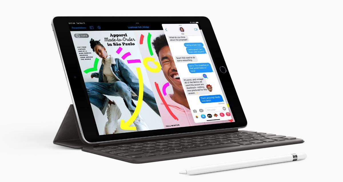 Ninth gen iPad sports 10.2-inch Retina display with True Tone
