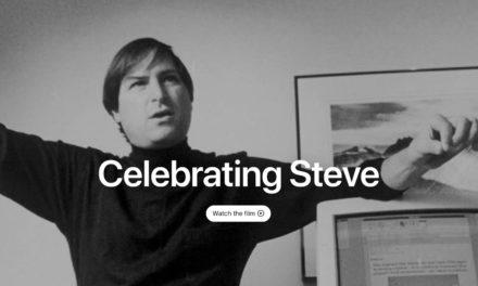 'Celebrating Steve' commemorative homepage honors the late Steve Jobs